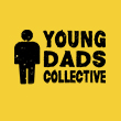Young Dads Collective logo yellow squared