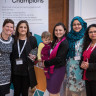 Parent Champions Redbridge won the Outstanding contribution to the Parent Champions National Network 2018 award