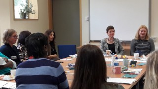 Michelle Dyson, Director of Early years, Parent Champions Haringey meeting