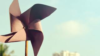 pinwheel oragami
