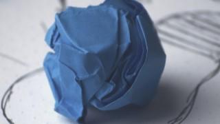 Idea bulb paper